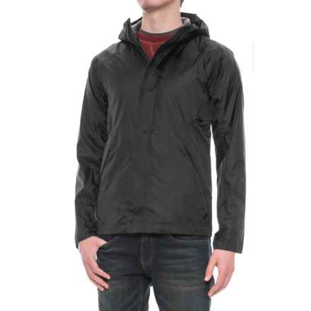 Sierra Designs Hurricane Jacket - Waterproof (For Men) in Black - Closeouts