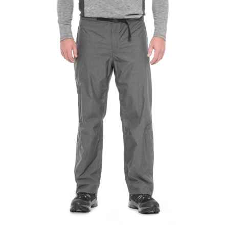 Sierra Designs Hurricane Pants - Waterproof (For Men) in Black - Closeouts