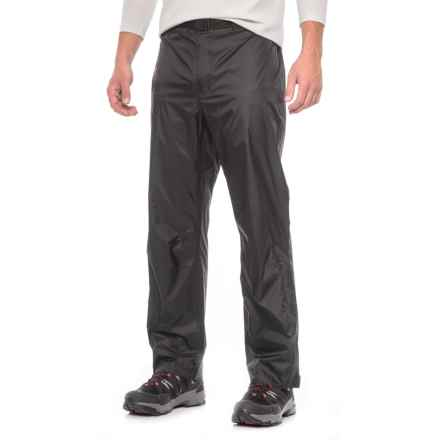 Sierra Designs Hurricane Pants - Waterproof, Short Inseam (For Men) in Black - Closeouts