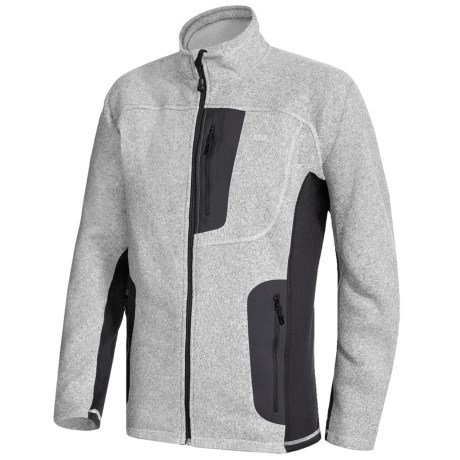 Sierra Designs Impound Fleece Jacket (For Men) in Silver