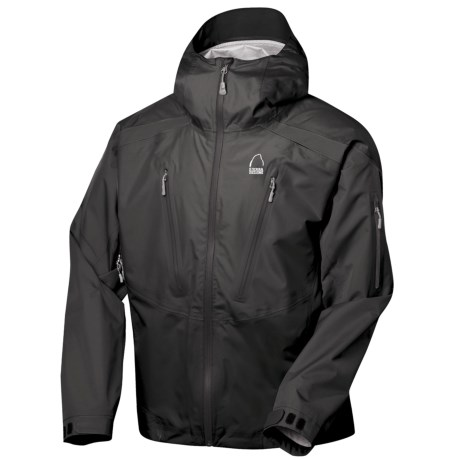Sierra Designs Jive Jacket - Waterproof (For Men) in Black