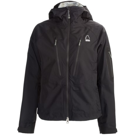 Sierra Designs Jive Jacket - Waterproof (For Women) in Black