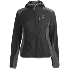 Sierra Designs Knuckle Hoodie Jacket - Full Zip (For Women) in Black/Rock - Closeouts
