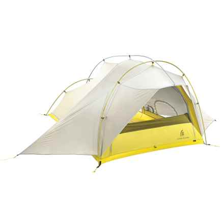 Sierra Designs Lightning 2 FL Tent - 2-Person, 3-Season in Yellow/White - Closeouts