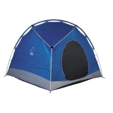 Sierra Designs Meteor Light Bottomless Shelter - 6-Person, 3 Season in Blue/Grey - Closeouts