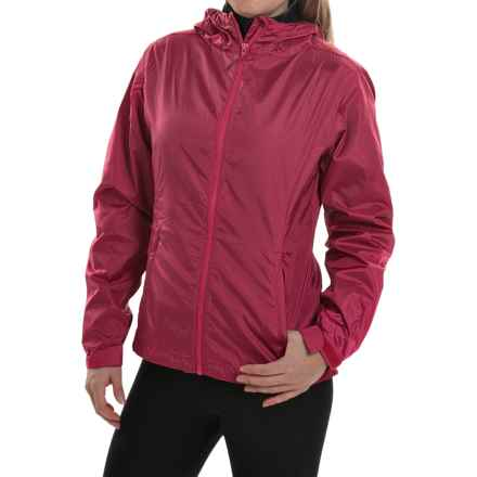 Sierra Designs Microlight Jacket (For Women) in Wild Berry - Closeouts