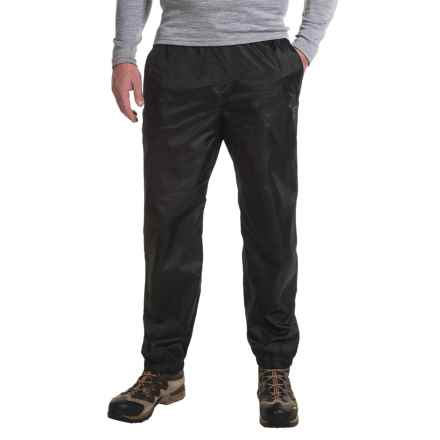 Sierra Designs Microlight Rain Pants (For Men) in Black - Closeouts
