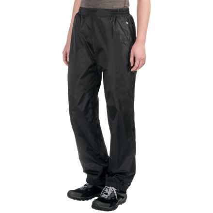 Sierra Designs Microlight Rain Pants (For Women) in Black - Closeouts