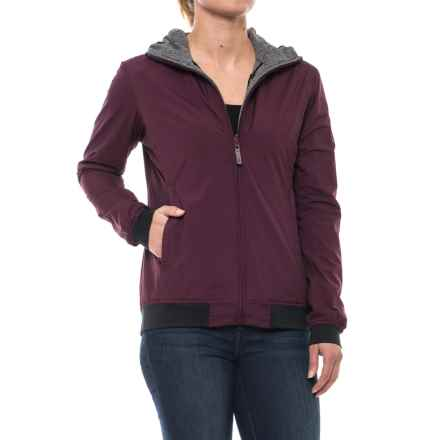Sierra Designs Outside-In Reversible Hooded Jacket (For Women) in Purple - Closeouts