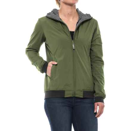 Sierra Designs Outside-In Reversible Hooded Jacket (For Women) in Vine - Closeouts
