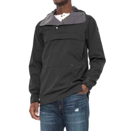 Sierra Designs Pack Anorak Jacket (For Men) in Black - Closeouts