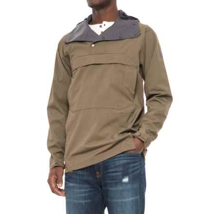 Sierra Designs Pack Anorak Jacket (For Men) in Stone - Closeouts