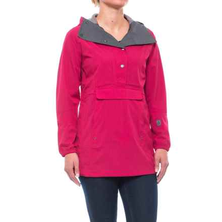 Sierra Designs Pack Anorak Jacket - Waterproof (For Women) in Cerise - Closeouts