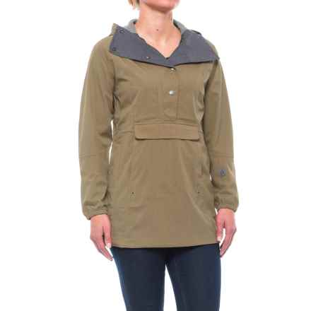 Sierra Designs Pack Anorak Jacket - Waterproof (For Women) in Stone - Closeouts