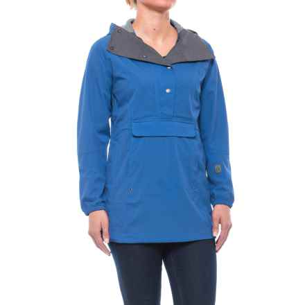 Sierra Designs Pack Anorak Jacket - Waterproof (For Women) in Strong Blue - Closeouts