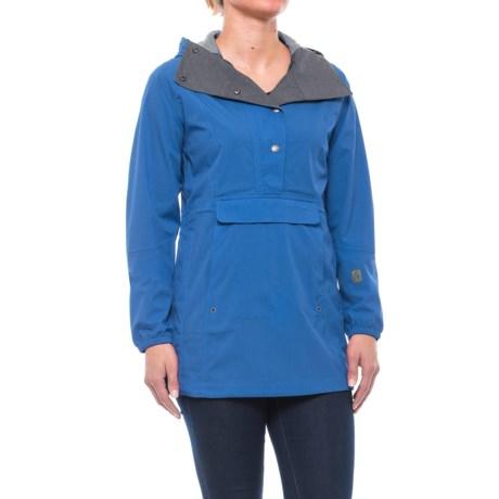 Sierra Designs Pack Anorak Jacket - Waterproof (For Women) in Strong Blue