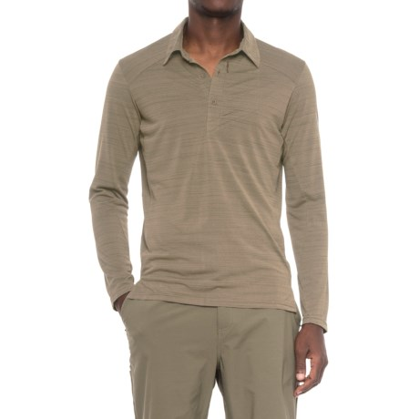 Sierra Designs Pack Polo Shirt - Long Sleeve (For Men)