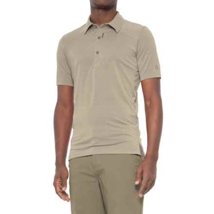 Sierra Designs Pack Polo Shirt - Short Sleeve (For Men) in Aluminum - Closeouts