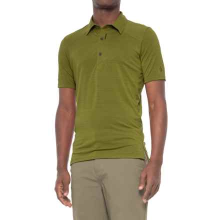 Sierra Designs Pack Polo Shirt - Short Sleeve (For Men) in Olive - Closeouts