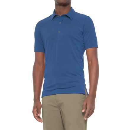 Sierra Designs Pack Polo Shirt - Short Sleeve (For Men) in True Blue - Closeouts