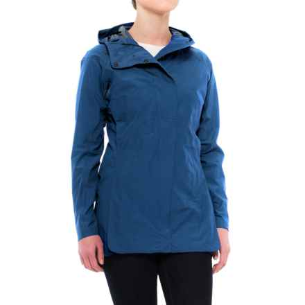 Sierra Designs Pack Trench Jacket (For Women) in Blue Heather - 2nds