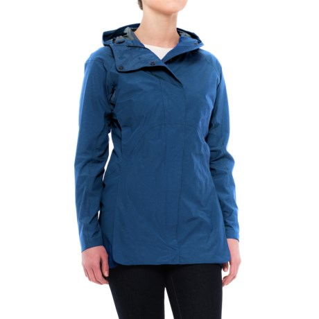 Sierra Designs Pack Trench Jacket (For Women) in Blue Heather
