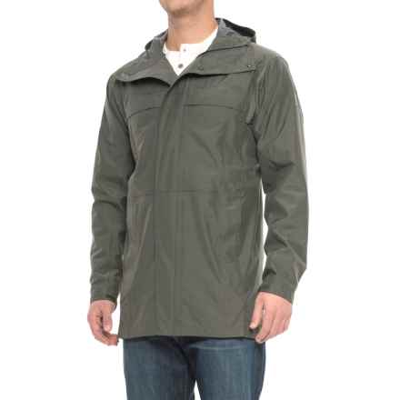 Sierra Designs Pack Trench Jacket - Waterproof (For Men) in Dark Green Heather - Closeouts