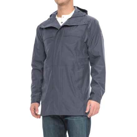 Sierra Designs Pack Trench Jacket - Waterproof (For Men) in Navy Heather - Closeouts