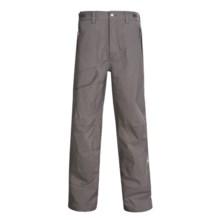Sierra Designs Rogue Snow Pants - Waterproof (For Men) in Rock - Closeouts