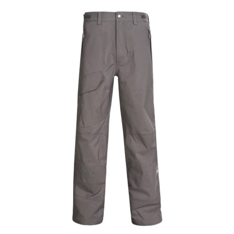 Sierra Designs Rogue Snow Pants - Waterproof (For Men) in Rock