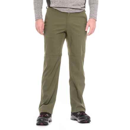 Sierra Designs Silicone Trail Pants (For Men) in Olive - Closeouts