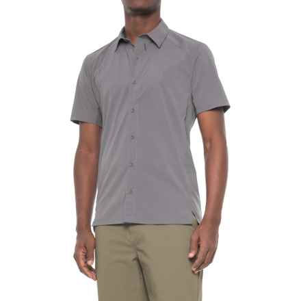 Sierra Designs Solar Wind Shirt - UPF 35, Short Sleeve (For Men) in Gray - Closeouts