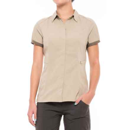 Sierra Designs Solar Wind Shirt - UPF 35, Short Sleeve (For Women) in Aluminim/Stone - Closeouts