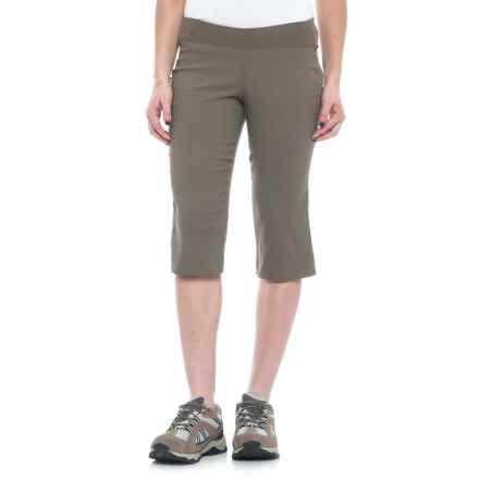 Sierra Designs Stretch Trail Capris (For Women) in Stone - Closeouts