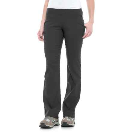 Sierra Designs Stretch Trail Pants (For Women) in Black - Closeouts