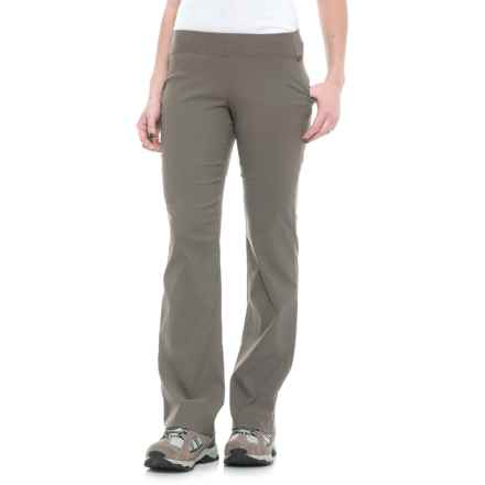 Sierra Designs Stretch Trail Pants (For Women) in Stone - Closeouts