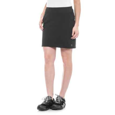 Sierra Designs Stretch Trail Skirt (For Women) in Black - Closeouts