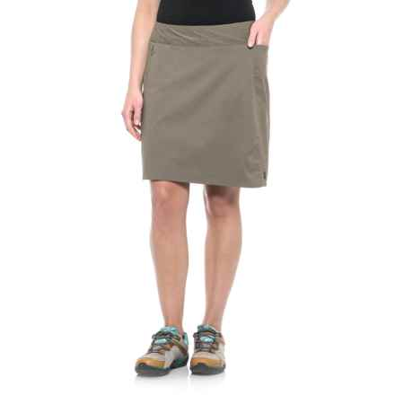 Sierra Designs Stretch Trail Skirt (For Women) in Stone - Closeouts