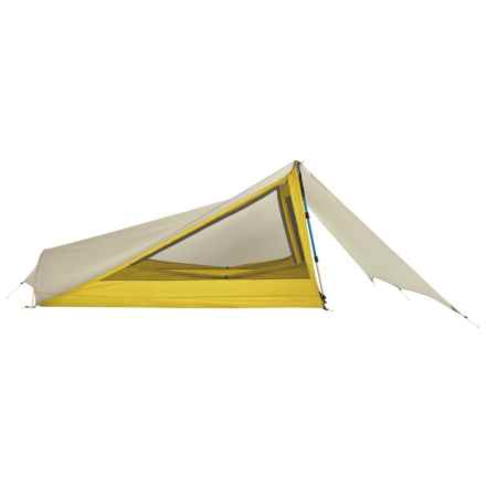 Sierra Designs Tensegrity 1 FL Tent - 1-Person, 3-Season in Yellow/White - Closeouts