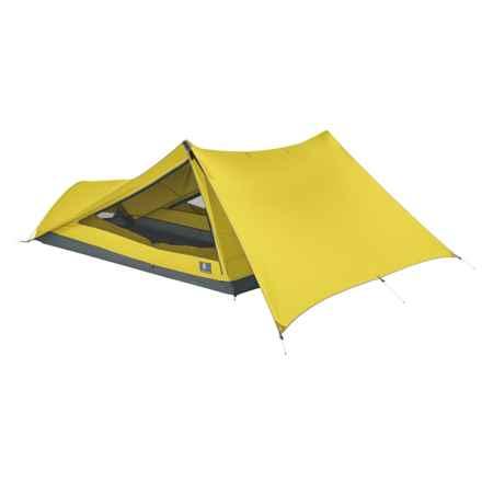 Sierra Designs Tensegrity 2 Elite Tent -  2-Person, 3-Season in Yellow/Yellow - Closeouts