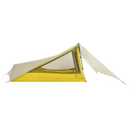 Sierra Designs Tensegrity 2 FL Tent - 2-Person, 3-Season in Yellow/White - Closeouts