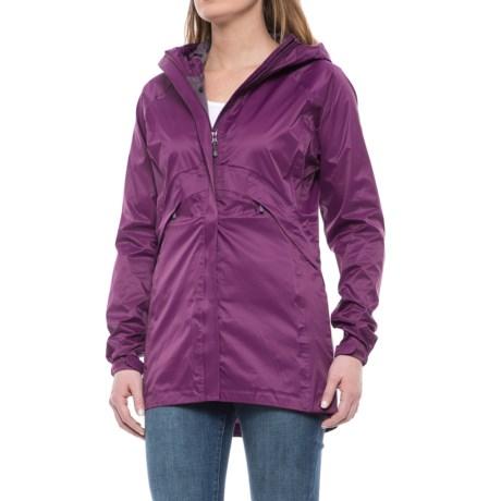 Sierra Designs Ultralight Trench Coat - Waterproof (For Women) in Lilac