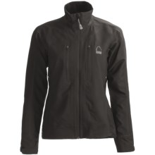 Sierra Designs Vapor Jacket - Soft Shell (For Women) in Black - Closeouts