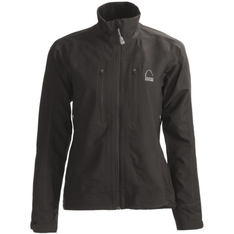 Sierra Designs Vapor  Soft Shell Jacket (For Women) in Sky/Shale
