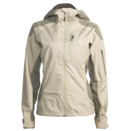 Sierra Designs Zinger Jacket - Waterproof, Cocona® (For Women) in File Cabinet/Ranger
