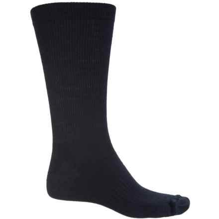 SIERRA SOCK COMPANY Lightweight Socks - Crew (For Men) in Navy - Closeouts