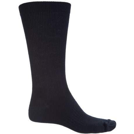 SIERRA SOCK COMPANY Lightweight Socks - Crew (For Men) in Navy