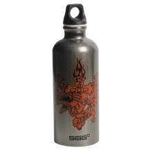 Sigg Screw-Top Water Bottle -  BPA-Free, 0.6L in Faith & Glory - Closeouts