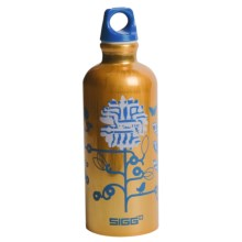 Sigg Screw-Top Water Bottle -  BPA-Free, 0.6L in Techno Blossom - Closeouts