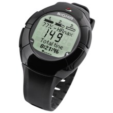Sigma Sport Onyx Fit Heart Rate Monitor Watch in Grey/Black - Closeouts